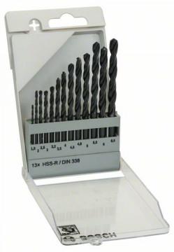 Sada vrtáků do kovu HSS-R, 13dílná, DIN 338 - 1,5…