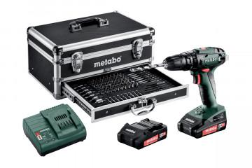 METABO SB 18 Set Akumulátorová příklepová vrtačka / mobilní dílna 602245910