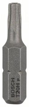 Bosch Šroubovací bit T20H Security Torx® zvlášť tvrdý Extra-Hart T20H, 25 mm