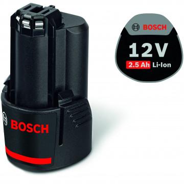 Akumulátor + nabíječka BOSCH GBA 12V 2,5Ah W + GAL 1830W PROFESSIONAL 1600A00J0F