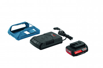 Akumulátor + nabíječka BOSCH GBA 18V 2,0Ah W + GAL 1830 W PROFESSIONAL 1600A003NA