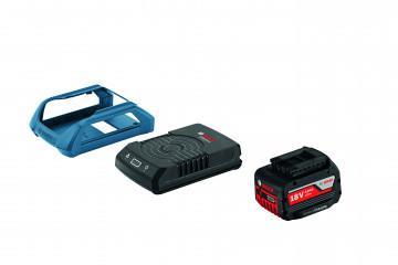 Akumulátor + nabíječka BOSCH GBA 18V 4,0Ah W + GAL 1830 W PROFESSIONAL 1600A00C43