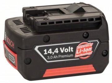 Zásuvný akumulátor 14,4V Standard Duty (SD), 3 Ah, Li-Ion, GBA M-C BOSCH 2607336224